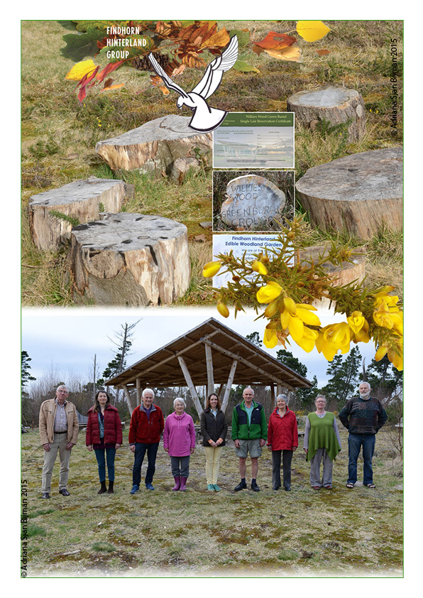 Scotland, Forres, 2015, May 30 photopage  for Findhorn Hinterland Group part of the  NFA Forum of Organisations